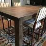 buy a custom modern rustic dining table made to order from