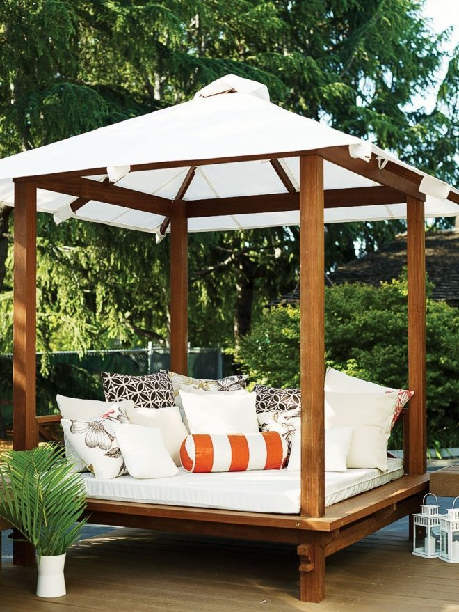 buy a daybed create your own curl up space on a patio deck or