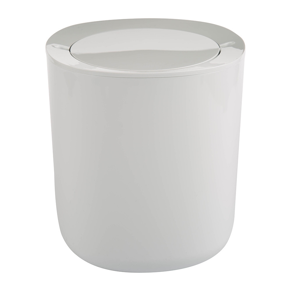 buy alessi birillo bathroom trash can amara