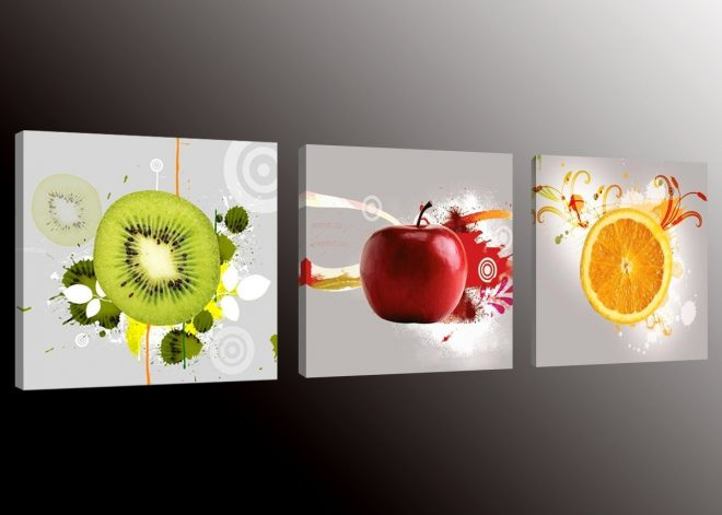 buy formarkor art kx1656 fruit picture canvas wall art prints for