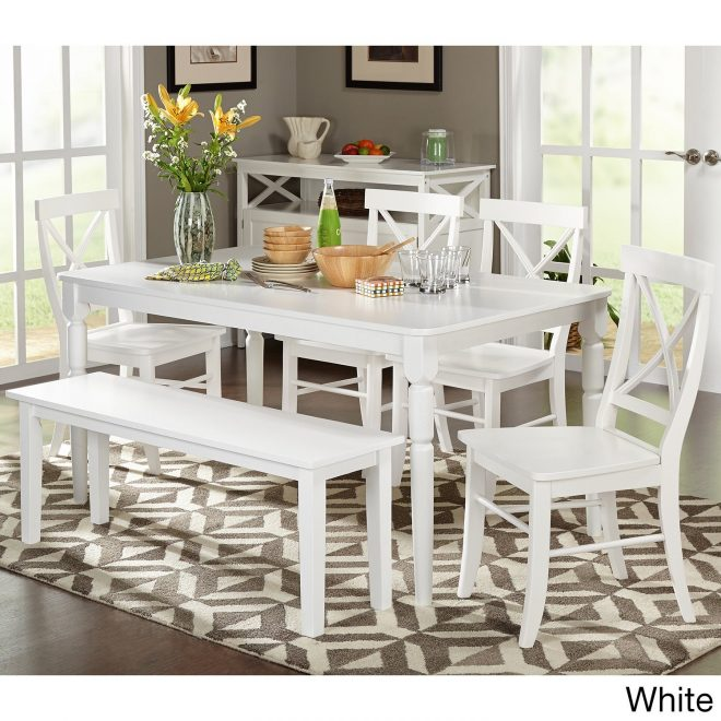buy white kitchen dining room sets online at overstock