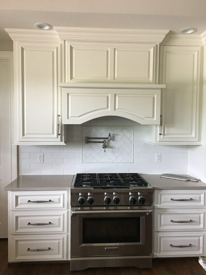 cabinets in sw alabaster wall and ceiling in sw accessible