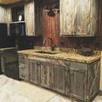 cabinets out of old barn doors rustic kitchen rustic