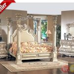 caledonian victorian inspired canopy bedroom set in antique