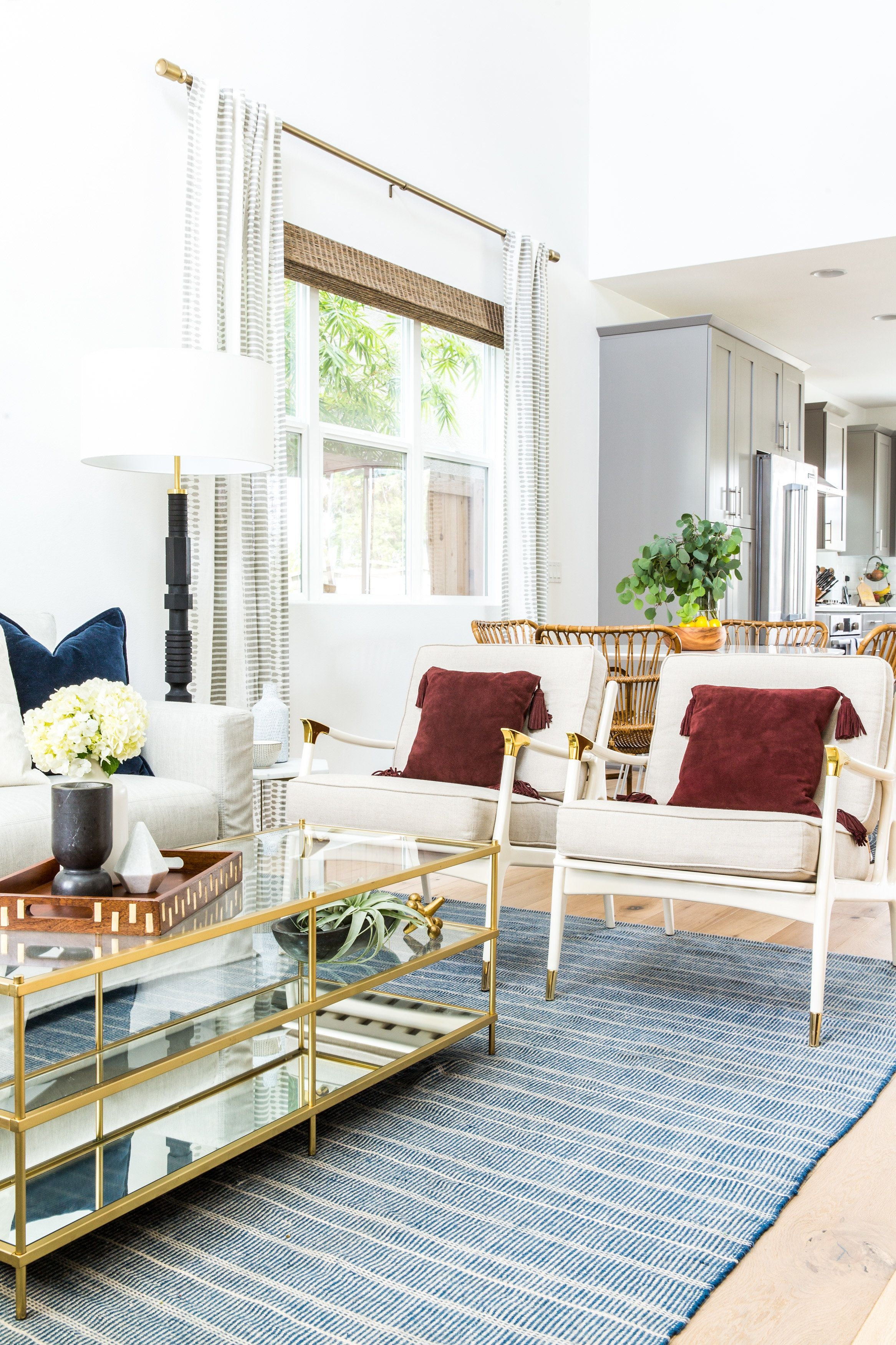 Casual Living Room: California Casual Living Room Lindye Galloway Interiors