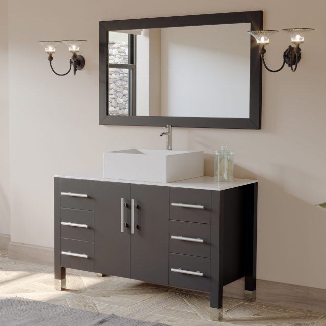 cambridge plumbing magnolia 47 single bathroom vanity set with
