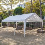 canopy carport tent garage portable outdoor shelter auto 10
