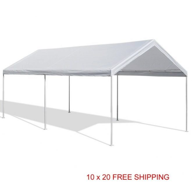 canopy domain carport gazebo 10 x 20 caravan garage
