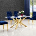 capri blue table