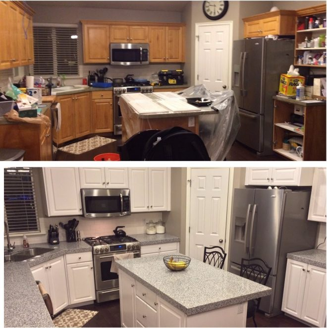 captivating painting old kitchen cabinets white with diy