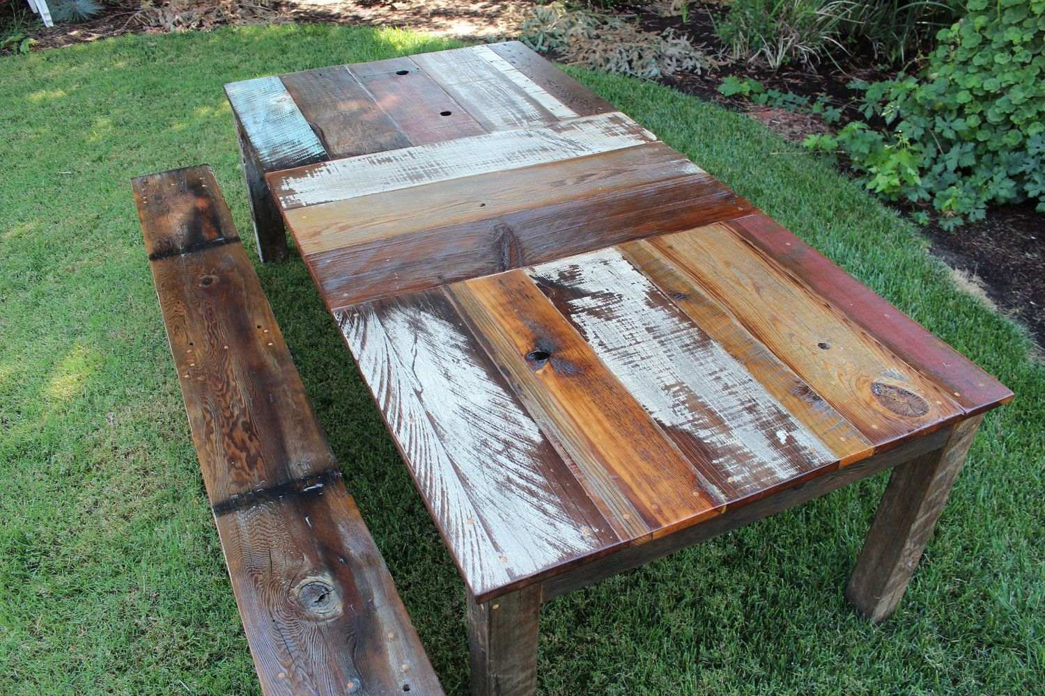carillon reclaimed wood kitching dining outdoor table 150000
