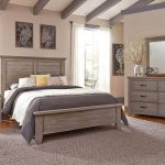 cassell park panel bedroom set weathered gray wood