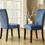 chair blue upholstered dining chairs chair blue