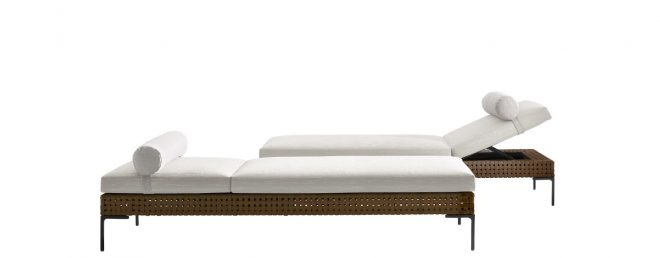 chaise longue charles outdoor bb italia outdoor design