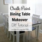 chalk paint dining table makeover kindly unspoken