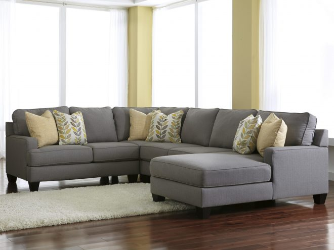 chamberly alloy 4 piece sectional sofa with right chaise