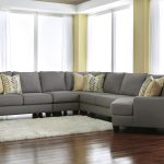 chamberly alloy 5 piece sectional sofa with right cuddler