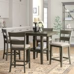 charlton home gwyneth 5 piece counter height dining set reviews