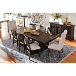 charthouse rectangular dining table and 4 side chairs in