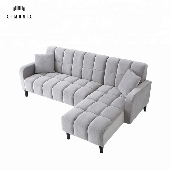 cheap modern grey l shaped sectional sofa buy sectional sofal shaped sectional sofasmodern l shaped sectional sofa product on alibaba