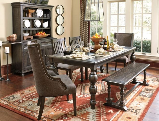 checkout the townser dining set exclusive to ashley