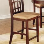 cherry counter height dining set lavon collection