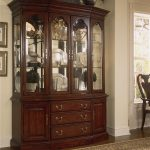 cherry grove 45th canted glass door china cabinet american drew at stoney creek furniture