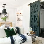 chic barn door ideas to add to your home no vacancy