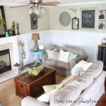 chic on a shoestring decorating my farmhouse chic living farmhouse