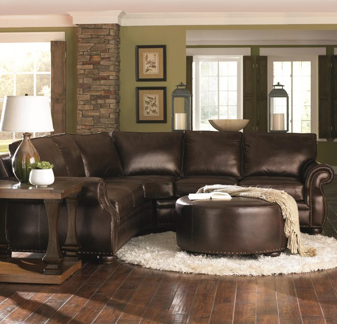 Living Room Decorating Ideas Brown, Living Room Decor Ideas With Brown Leather Couches