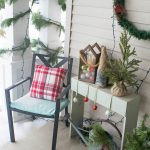 christmas front porch decorating ideas simple low cost and