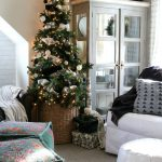 christmas ideas in a small space upstairs tour christmas