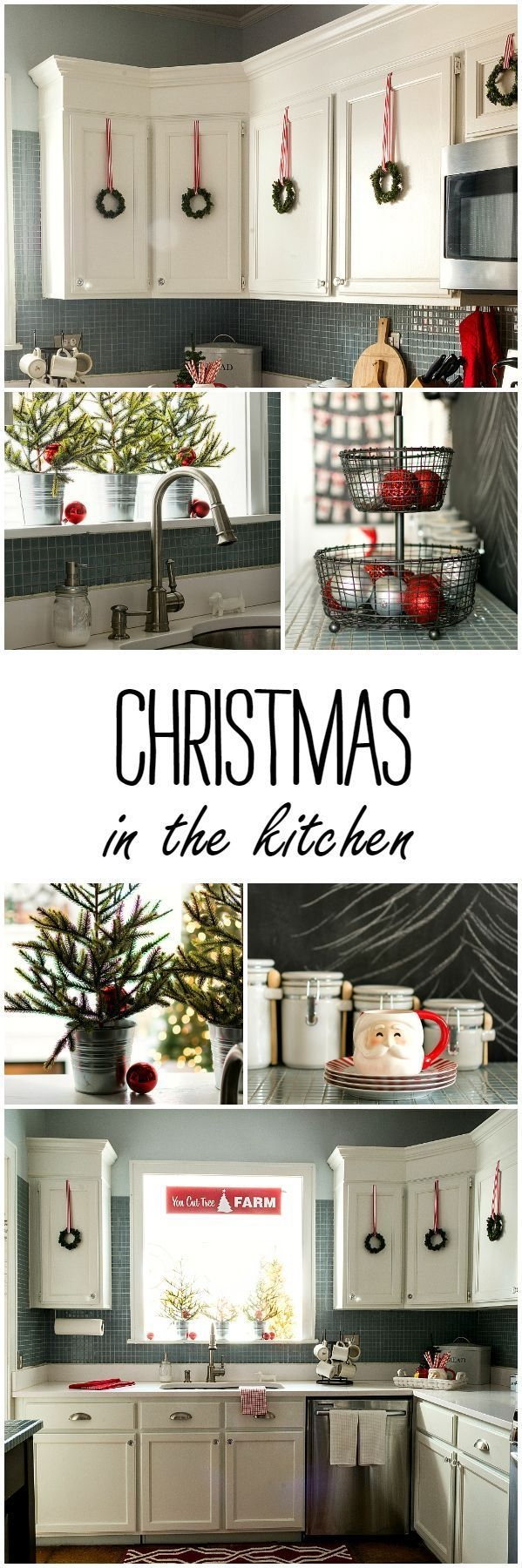 christmas in the kitchen holiday christmas pinterest