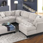 cindy crawford home metropolis platinum 3 pc sectional