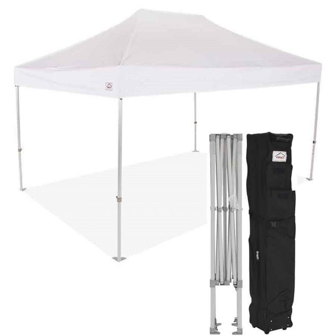 cl 10x15 pop up canopy tent heavy duty commercial grade with roller bag