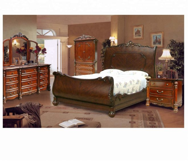 classic sleigh bed with hand carvings buy bedroom setsleigh bedbedroom furniture product on alibaba