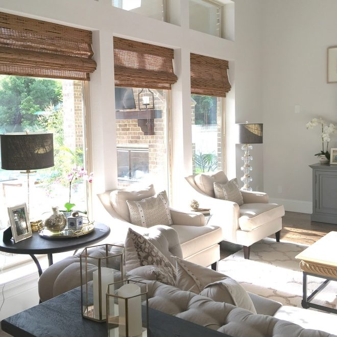 classic style home living room update progress