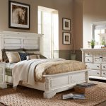 claymore park off white 8 pc king panel bedroom wood