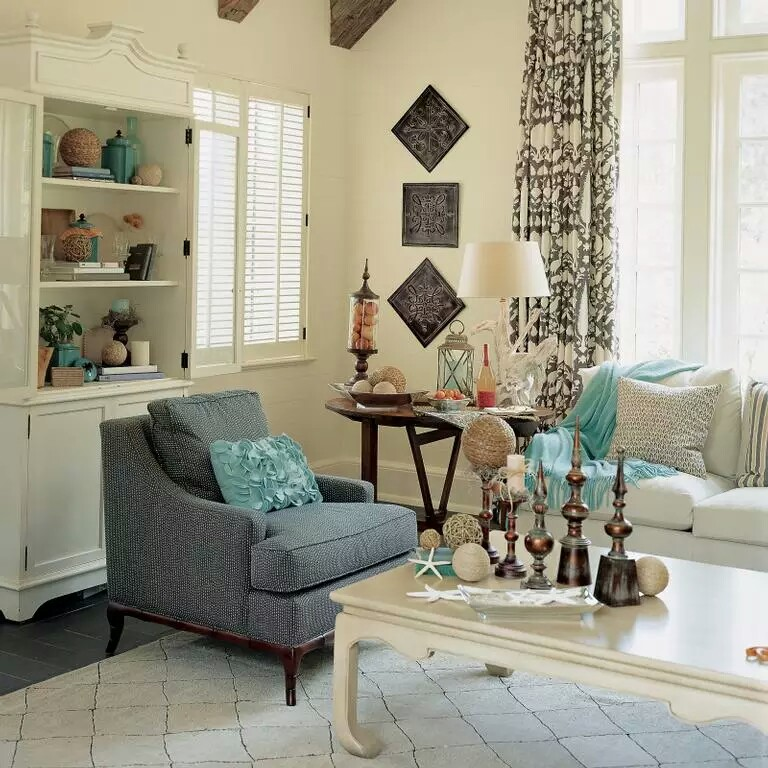 Coastal Decor Living rooms | My Decorative