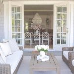 coastal style outdoor living french doors patio design