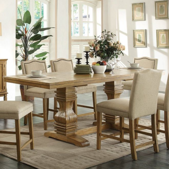 coaster fine furniture 103718 parkins counter height dining