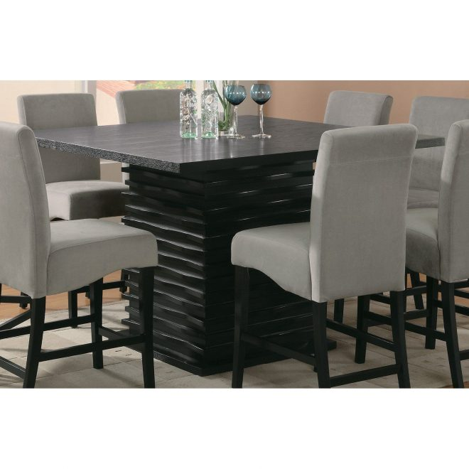 coaster furniture stanton counter height dining table