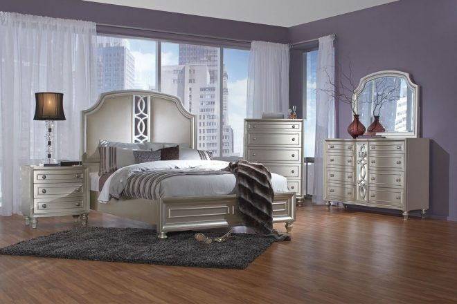 colleen 5 piece queen bedroom set with 32 led tv steal