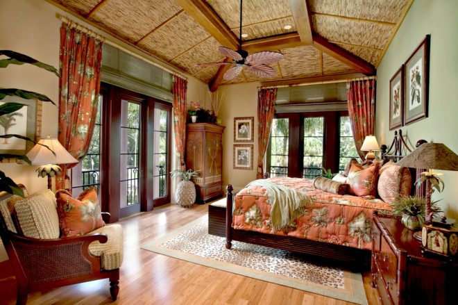 colonial style beach house bedroom tropical bedrooms