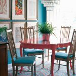 colorful painted dining table inspiration addicted 2 decorating