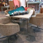 comfy dining room chairs use rattan dining chairs for