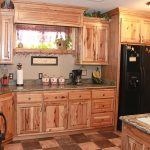 contemporary rustic hickory kitchen cabinet the plus home