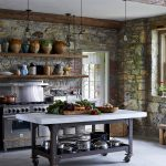contemporary rustic kitchen designs for small kitchens