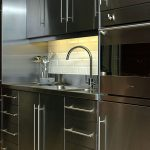 contemporary stainless steel kitchen cabinet contemporary