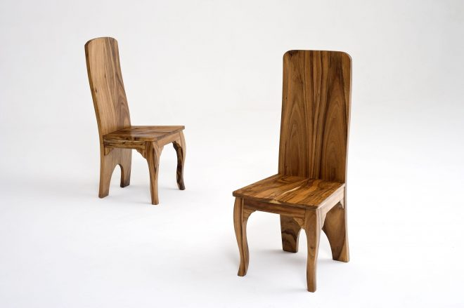 contemporary wood dining chair design 5
